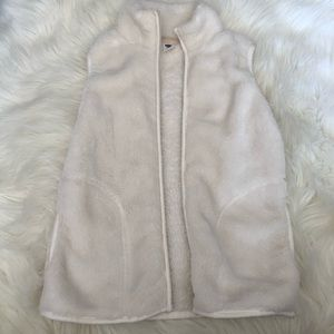 Girls white vest